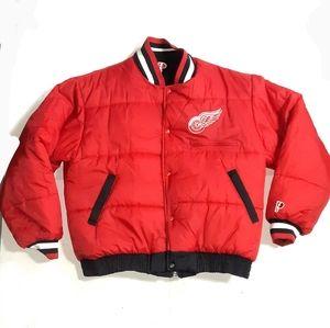 Vintage Reversible Detroit Red Wings Jacket